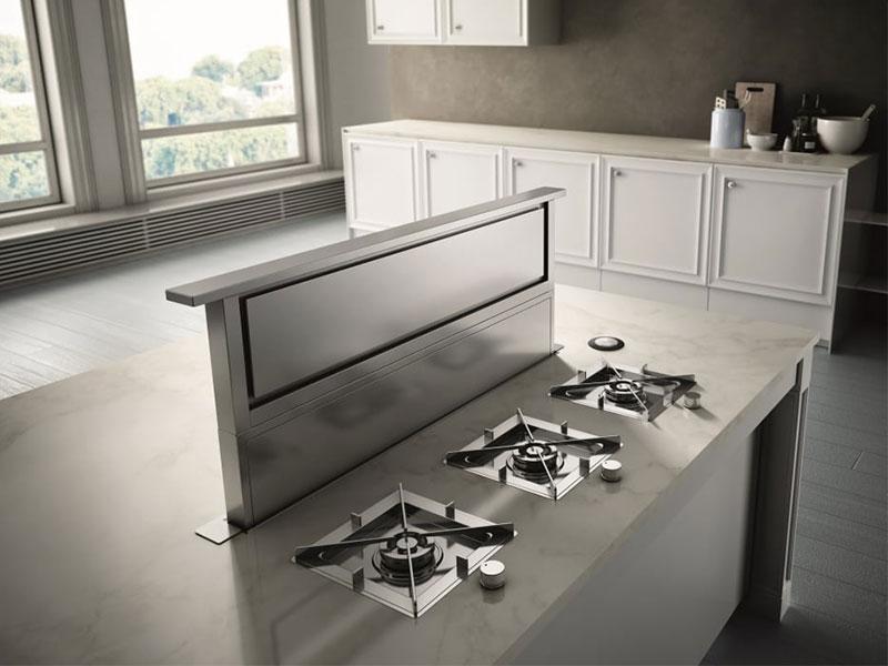 معرفی انواع هود آشپزخانه - هود آسانسوری