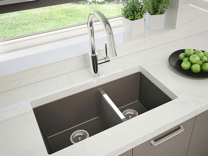 راهنمای خرید سینک ظرفشویی - سینک زیرکار