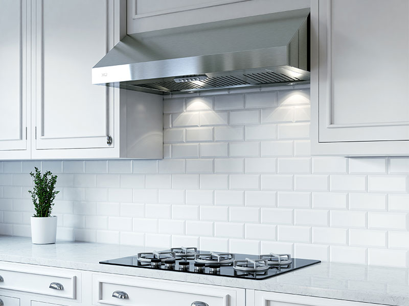معرفی انواع هود آشپزخانه - هود زیرکابینتی