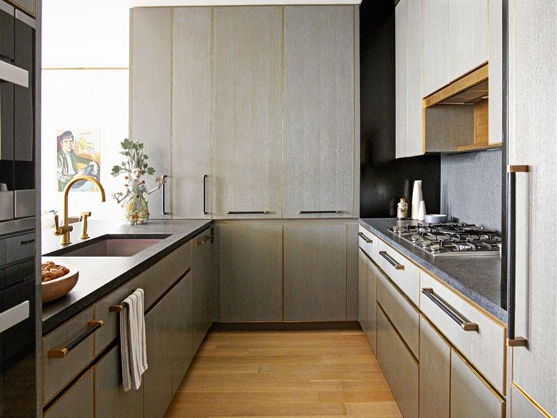 نکات طراحی دکوراسیون آشپزخانه - آشپزخانه کوچک