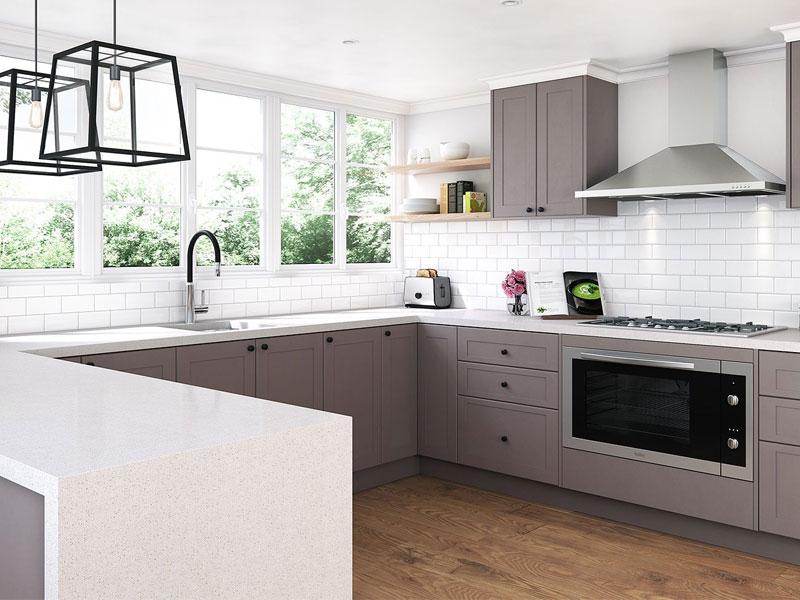 نکات طراحی دکوراسیون آشپزخانه - مثلث کار